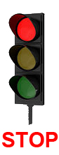 traffic light - STOP